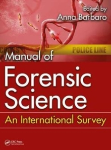 Manual of Forensic Science : An International Survey, Hardback Book