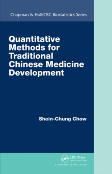 Quantitative Methods for Traditional Chinese Medicine Development, EPUB eBook