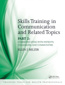Skills Training in Communication and Related Topics : Pt. 2, PDF eBook