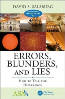 Errors, Blunders, and Lies : How to Tell the Difference, Paperback / softback Book