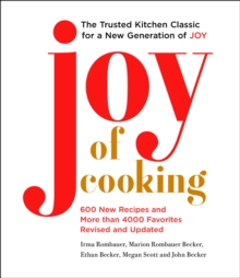 Joy of Cooking : 2019 Edition Fully Revised and Updated, Hardback Book