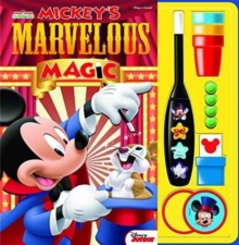 Mickey Mouse Magic Set Book, Hardback Book