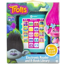 Dreamworks Trolls   Me Reader Electronic Reader 8 Book Library, Novelty book Book