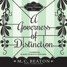 A Governess of Distinction, eAudiobook MP3 eaudioBook