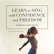 Learn to Sing with Confidence and Freedom, eAudiobook MP3 eaudioBook