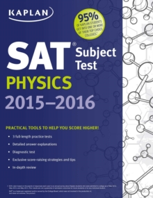 Kaplan SAT Subject Test Physics 2015-2016, EPUB eBook