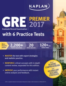 GRE Premier 2017 with 6 Practice Tests : Online + Book + Videos + Mobile, EPUB eBook