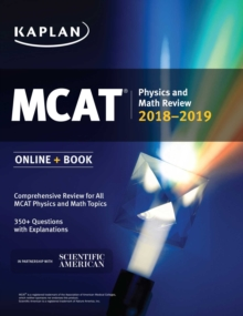 MCAT Physics and Math Review 2018-2019 : Online + Book, EPUB eBook