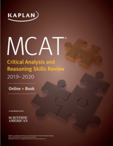 MCAT Critical Analysis and Reasoning Skills Review 2019-2020 : Online + Book, EPUB eBook