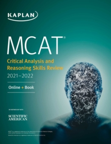 MCAT Critical Analysis and Reasoning Skills Review 2021-2022 : Online + Book, EPUB eBook