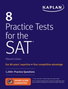 8 Practice Tests for the SAT : 1,200+ SAT Practice Questions, EPUB eBook