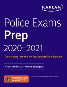 Police Exams Prep 2020-2021 : 4 Practice Tests + Proven Strategies, EPUB eBook
