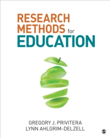 Research Methods for Education, Paperback Book