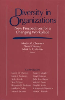 Diversity in Organizations : New Perspectives for a Changing Workplace, EPUB eBook