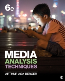 Media Analysis Techniques, Paperback Book