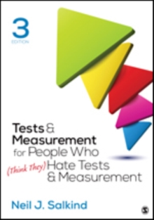 Tests & Measurement for People Who (Think They) Hate Tests & Measurement, Paperback Book
