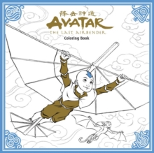 Avatar: The Last Airbender Colouring Book, Paperback Book