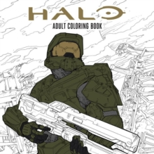Halo Coloring Book : Based off the game Halo from Microsoft and 343, Paperback Book