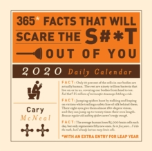 365 Facts That Will Scare the S#*t Out of You 2020 Daily Calendar, Calendar Book