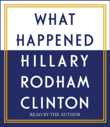 What Happened, CD-Audio Book