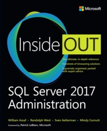 SQL Server 2017 Administration Inside Out, Paperback / softback Book