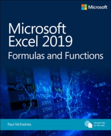 Microsoft Excel 2019 Formulas and Functions, Paperback / softback Book