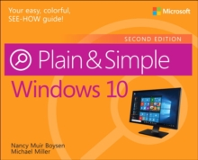 Windows 10 Plain & Simple, Paperback / softback Book