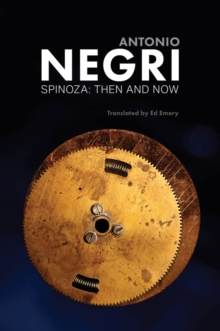 Spinoza : Then and Now, Essays, EPUB eBook