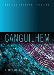 Canguilhem, Paperback / softback Book