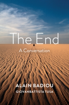 The End : A Conversation, Paperback / softback Book
