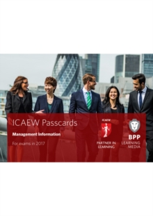 ICAEW Management Information : Passcards, Spiral bound Book