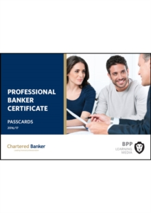 Professional Banker Certificate : Passcards, Spiral bound Book