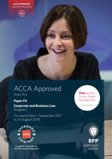 ACCA F4 Corporate and Business Law (English) : Study Text, Paperback Book