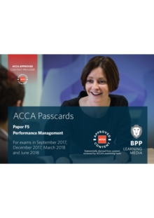 ACCA F5 Performance Management : Passcards, Spiral bound Book
