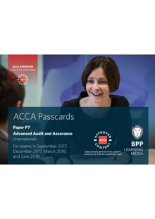 ACCA P7 Advanced Audit and Assurance (International) : Passcards, Spiral bound Book