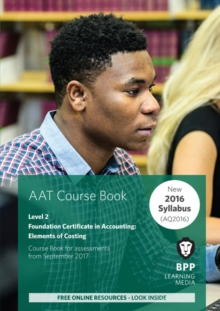AAT Elements of Costing : Coursebook, Paperback / softback Book