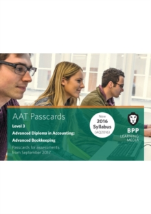 Aat Advanced Bookkeeping : Passcards, Spiral bound Book