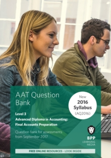Aat Final Accounts Preparation : Question Bank, Paperback Book