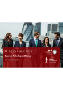 ICAEW Business, Technology and Finance : Passcards, Spiral bound Book