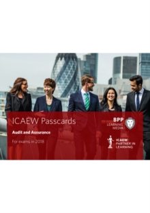 ICAEW Audit and Assurance : Passcards, Spiral bound Book