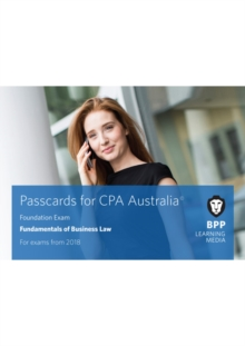 CPA Australia Fundamentals of Business Law : Passcards, Spiral bound Book