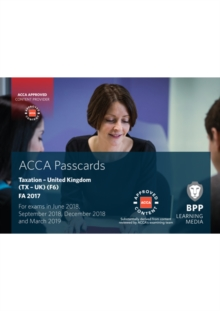 ACCA F6 Taxation FA2017 : Passcards, Spiral bound Book