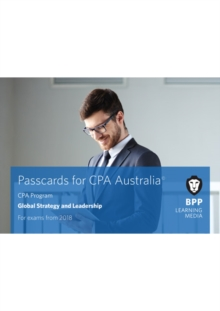 CPA Australia Global Strategy & Leadership : Passcards, Spiral bound Book