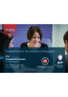 FIA Foundations in Taxation FTX FA2017 : Passcards, Spiral bound Book