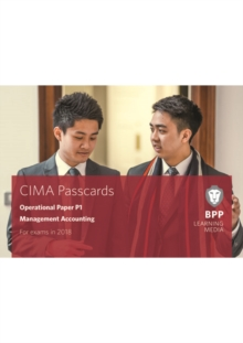 CIMA P1 Management Accounting : Passcards, Spiral bound Book