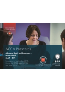 ACCA Advanced Audit and Assurance (International) : Passcards, Spiral bound Book