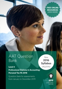 AAT Personal Tax FA2018 : Question Bank, Paperback / softback Book