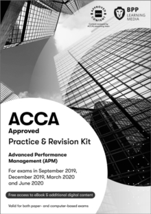 ACCA Advanced Performance Management : Practice and Revision Kit, Paperback / softback Book