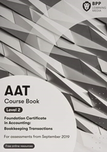 AAT Bookkeeping Transactions : Course Book, Paperback / softback Book
