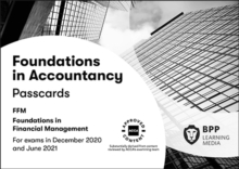 FIA Foundations in Financial Management FFM : Passcards, Spiral bound Book